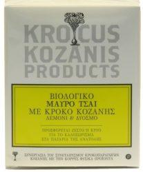 Βιολογικό Μαύρο Τσάι με Κρόκο Κοζάνης