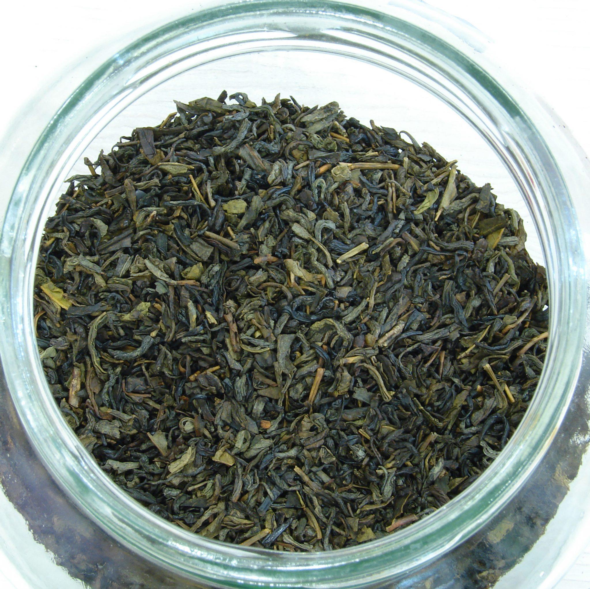 Πράσινο τσάι - Mέλι κανέλα καρύδα