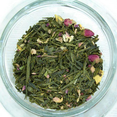 Πράσινο τσάι - Τριαντάφυλλο